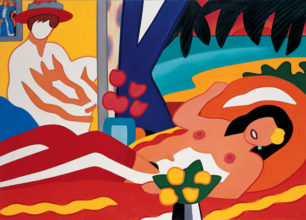 Sunset Nude with Wesselmann
