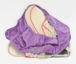 Sneakers and Purple Panties