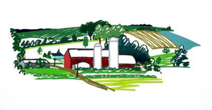 Barn Behind Beechwoods