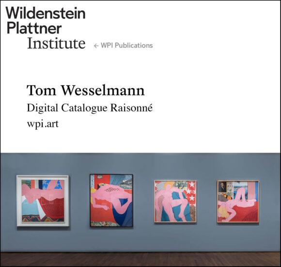 Tom Wesselmann Digital Corpus